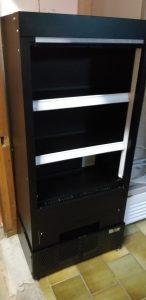 ISA mini wandkoeling /koelkast 230v (rolgordijn) Zwart Image