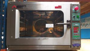 RVS moretti forni combi oven / steamer 4x 1/1 GN 400V Horeca Image