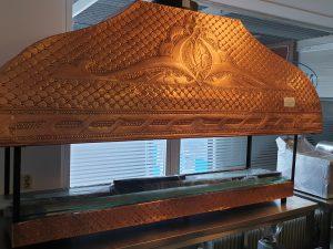 Koperen barbecue - 1,8 m - TURKS HOUTSKOOL GRILL INCL GLAS RONDOM Image