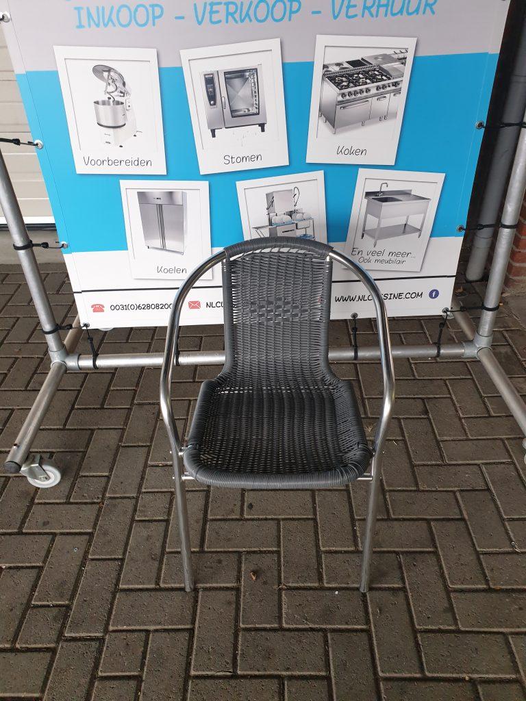 8 Terras stoelen Image