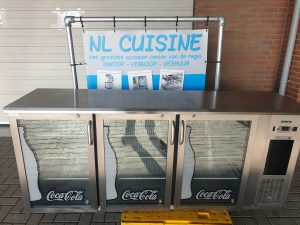 Coca Cola display Gamco barkoeling 3 deurs Image