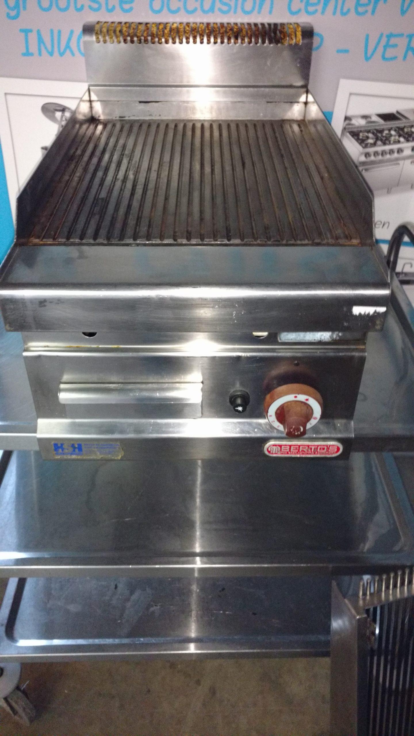Bertos bakplaat gas Image