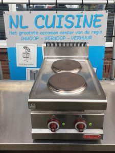 Bertos 2 pits elektrische kookplaten opzet Image