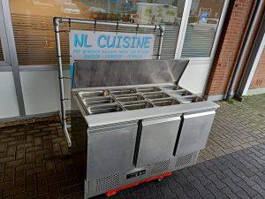 Maxxfrost saladette met 3 deurs onderkoeling Image